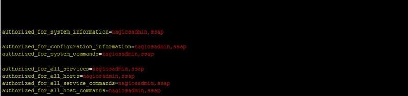 nagios登录用户配置